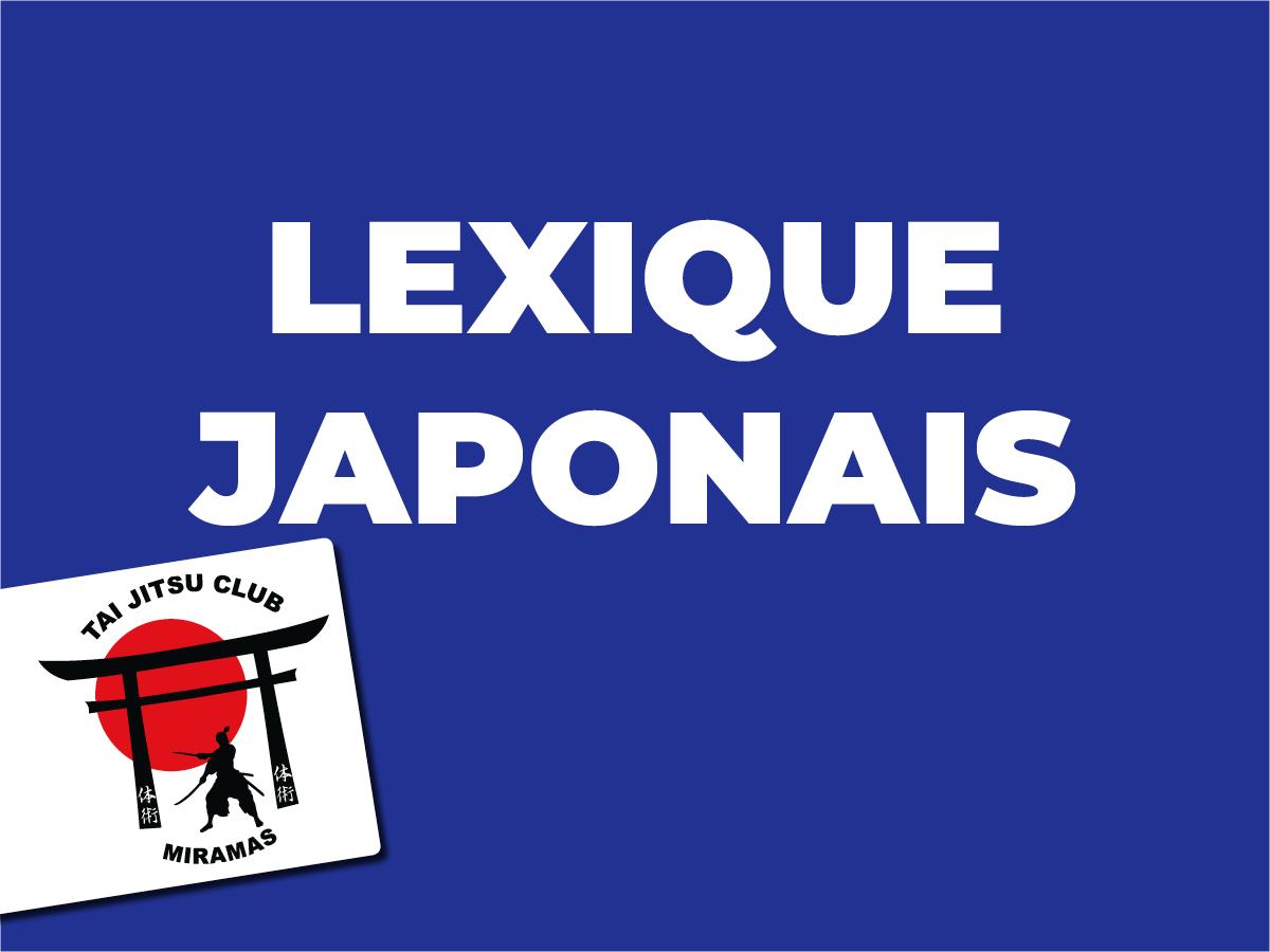 Lexique japonais